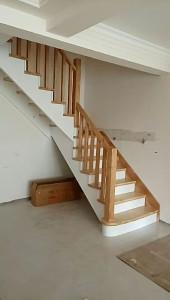 戴氏 楼梯 中式,欧美式楼梯 八角柱