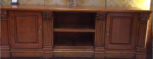 豪利 欧式实木电视柜 欧式实木电视柜 ZB-DSG#