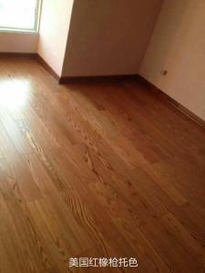 柏尔 实木地板 纯原木,零甲醛 红橡(地热型)BR-FG08