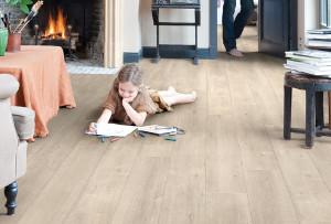 得高 强化木地板 乡村特性、细小锯切条纹,还原自然 IM1857