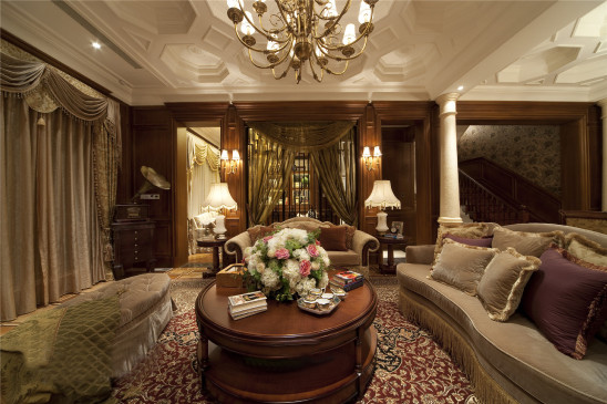 美式古典别墅