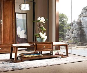 豪典工坊 床尾凳 新中式家具、实木家具 中国概念III 302C6