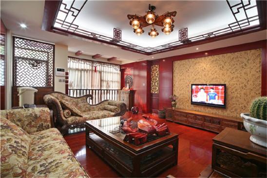 古典中式风格四居室