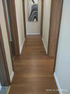 菲林格尔 实木复合地板 菲林格尔地板多层实木复合家用耐磨防水木地板优想主义 白栎L02