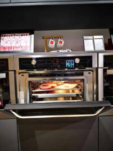 Teka 蒸烤一体机 45cm高多功能蒸烤一体机 HKL970sc