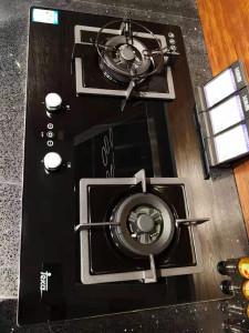 Teka 燃气灶 78cm宽玻璃定时燃气灶 JZT-CNGXN782G