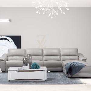 左右 三件套皮沙发 左右转A+转B+休单现代简约 左右情景客厅 ZY2350-D