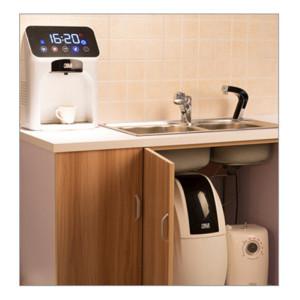 3M 管线机 在线加热,智能防干烧,电磁阀控制进出水,安全可靠,常温直接出水,定期维护提醒,安心保障,内置三重保护 3M净水 HWS-CT-HC.