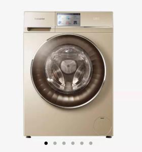 海尔智慧云 卡萨帝洗衣机 10公斤直驱变频滚筒洗衣机 海尔智慧云整装家居 C1HBD10G3ZU1