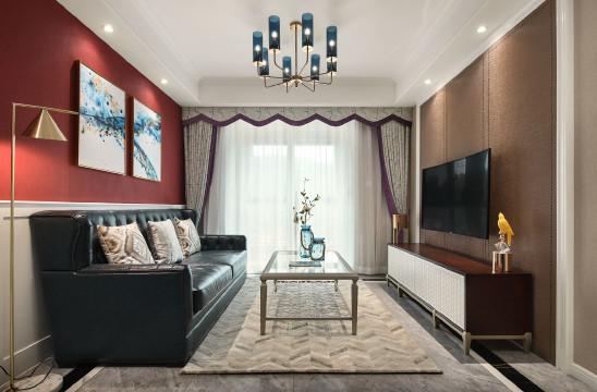 相悦丨美式婚房设计