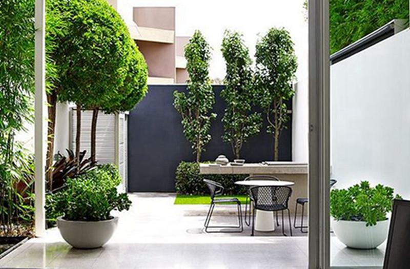 给家设计个小院子,白赚个客厅、阳光房、茶室……