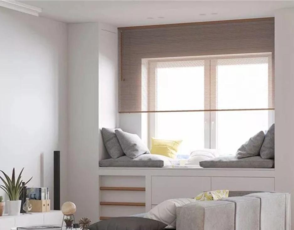 飘窗这样设计,简直白赚一间房:书房、卧房、阳光房!
