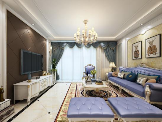 125平方简约风格婚房