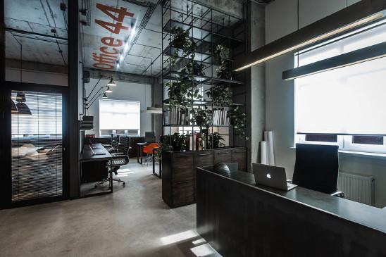 色彩搭配正确的办公空间