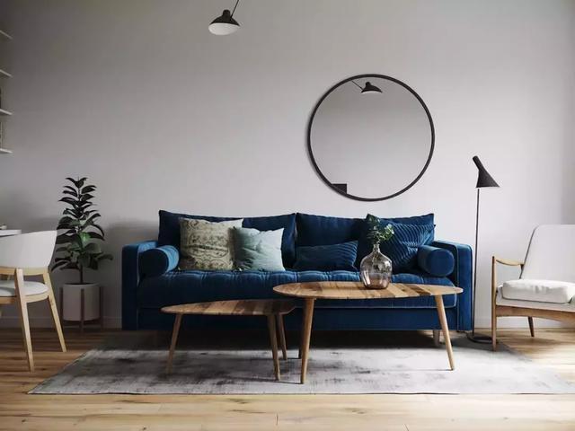 沙发背景墙原来还能这样装,三种材质哪种更好?