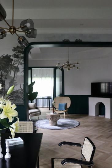 百年别墅洋房,依然可以玩转现代法式艺术风