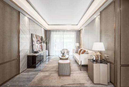 新中式轻奢风,95平三室两厅装修范本