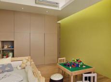 孩子的乐园126㎡现代简约三居室13.5万