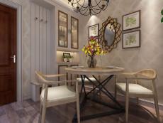 好漂亮的客餐厅93㎡现代简约三居室4.1万