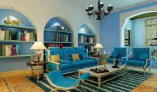 蓝色海岸139㎡地中海三居室12.6万