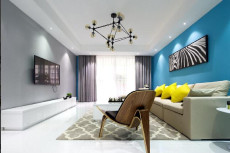蓝色精灵89㎡现代简约二居室5.9万