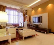 暖色调设计170㎡北欧风格四居室13万
