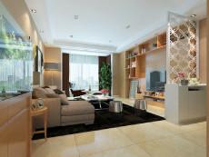 暖色调之家169㎡现代简约四居室7万