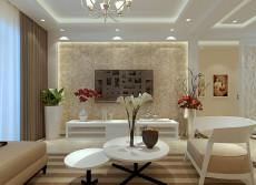 暖色调温馨之家110㎡现代简约三居室4.8万