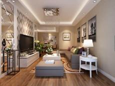 暖色调之家93㎡现代简约二居室4.5万