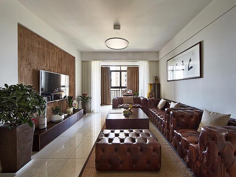 诺德中心美式126㎡北欧风格三居室8.3万
