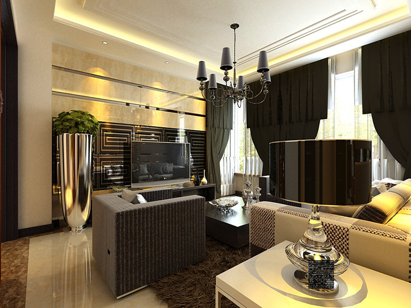 青岛西子公寓130㎡现代简约三居室13万