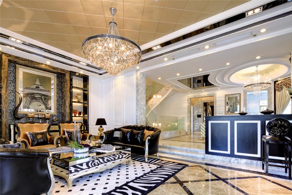 洋房设计400㎡北欧风格四居室148万