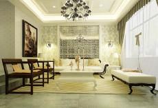 银泰御华园133㎡法式三居室