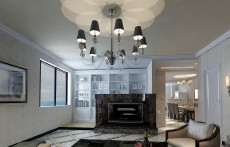 用心打造完美家装88㎡现代简约三居室15万