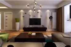 玉门河小区128㎡现代简约三居室