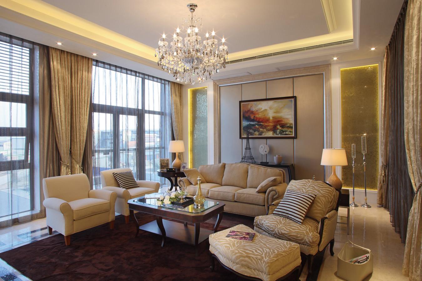 质朴的你360㎡北欧风格四居室25.2万
