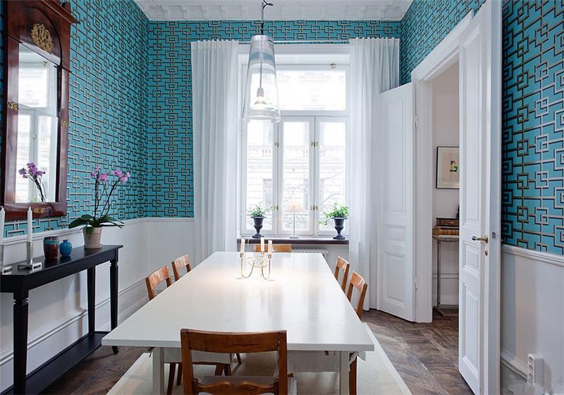 中房颐园134㎡北欧风格三居室17万