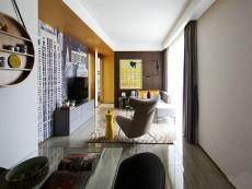 中海滨湖公馆家装96㎡现代简约三居室9.5万