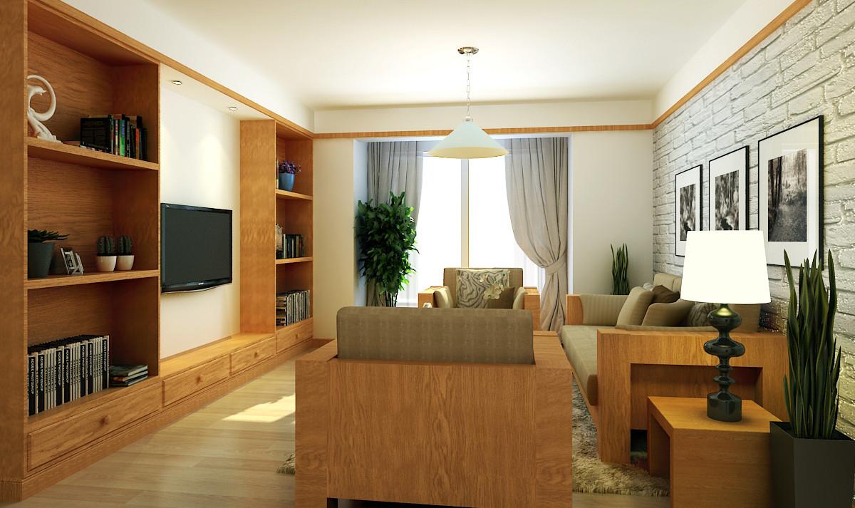 中海珑玺120㎡韩式风格三居室