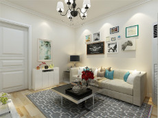 中山门小区50㎡现代简约一居室2.6万