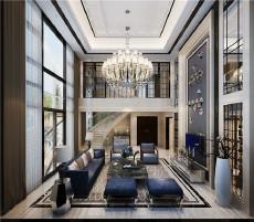 中堂自建别墅550㎡北欧风格六居室180万