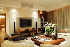 装饰119㎡现代简约三居室4万