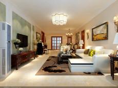 庄重之家120㎡现代简约二居室9.8万