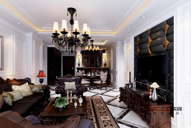 装饰西式150㎡北欧风格三居室17.5万