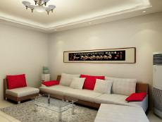 淄博世纪花园小区108㎡现代简约二居室1.5万