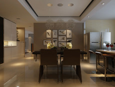 紫阁小区125㎡现代简约三居室7万