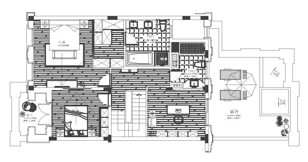 紫郡的别墅435㎡新古典别墅50.2万