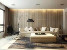 自然舒适之家112㎡现代简约二居室13.2万