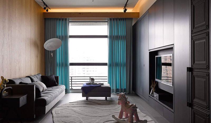 自然质朴生活88㎡混搭风格三居室10.4万