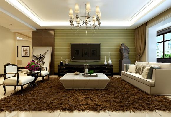 尊贵156㎡现代简约三居室10万